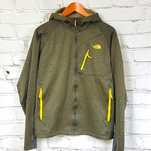 North Face Full-Zip Hooded Warm-up Jacket